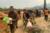 Über 250 Familien haben Hilfspakete erhalten (csi)