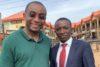 Franklyne Ogbunwezeh (à gauche) avec le partenaire CSI Solomon Dalyop Mwantiri de la ville de Jos, au centre du Nigéria. (csi)