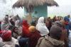 La distribution de couvertures et d'habits dans le district de Siraha a nécessité une longue préparation. Les habitants transis sont très reconnaissants pour l'aide apportée. (csi)
