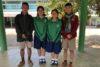 Des élèves motivés : Sudarat, Chali, Jesada, Udom et Meta sont étroitement accompagnés par la partenaire CSI. (csi)