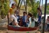 Ces enfants du centre éducatif de Homs font la première excursion de leur vie. (csi)